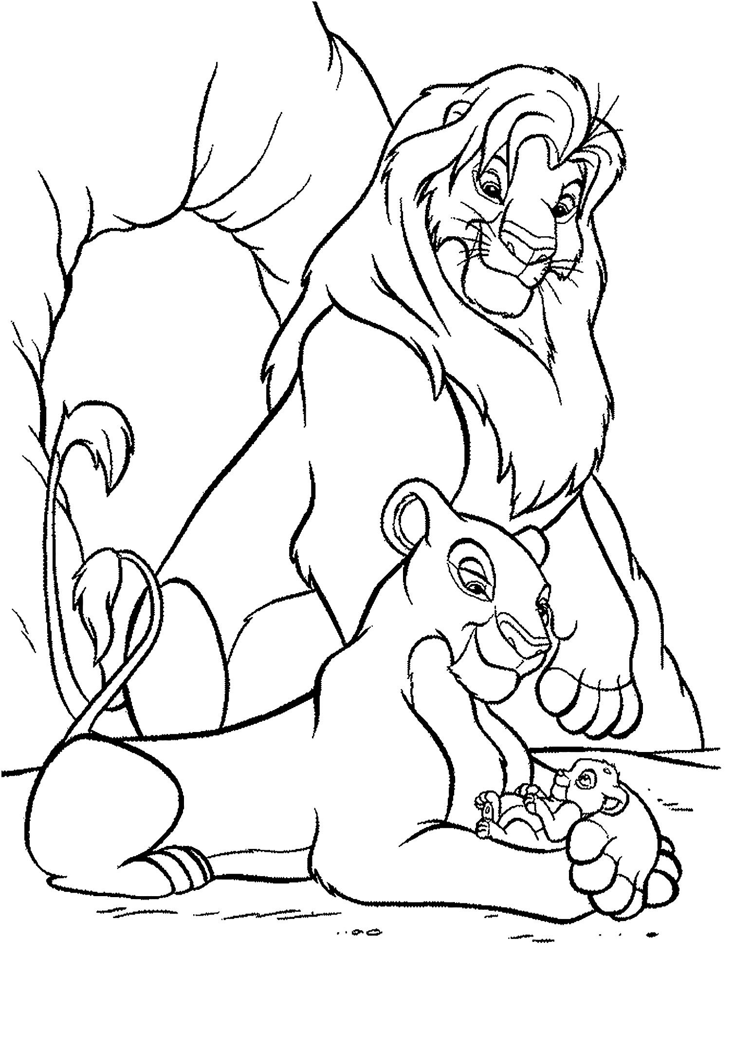 lion king coloring pages lion king sheets coloring pages king lion coloring pages