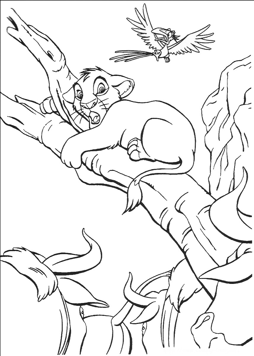 lion king coloring pages the lion king coloring pages coloring king lion pages