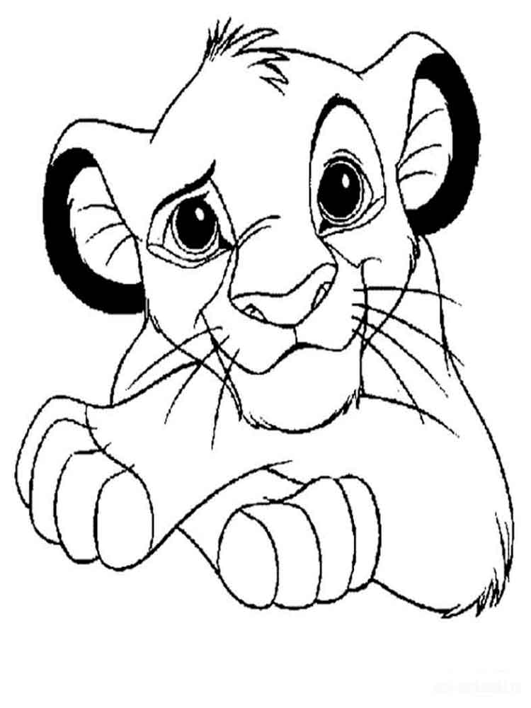 lion king coloring pages the lion king coloring pages download and print the lion king lion coloring pages