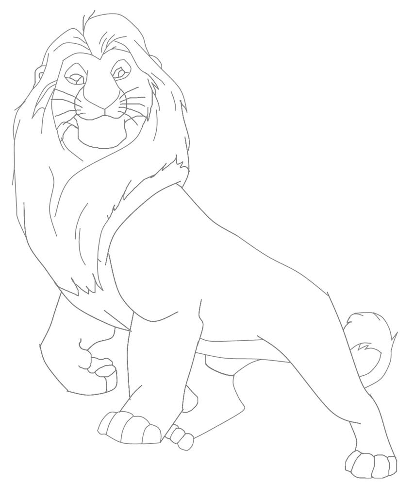 lion king mufasa coloring pages coloring page girlfriend simba nala pages king mufasa lion coloring
