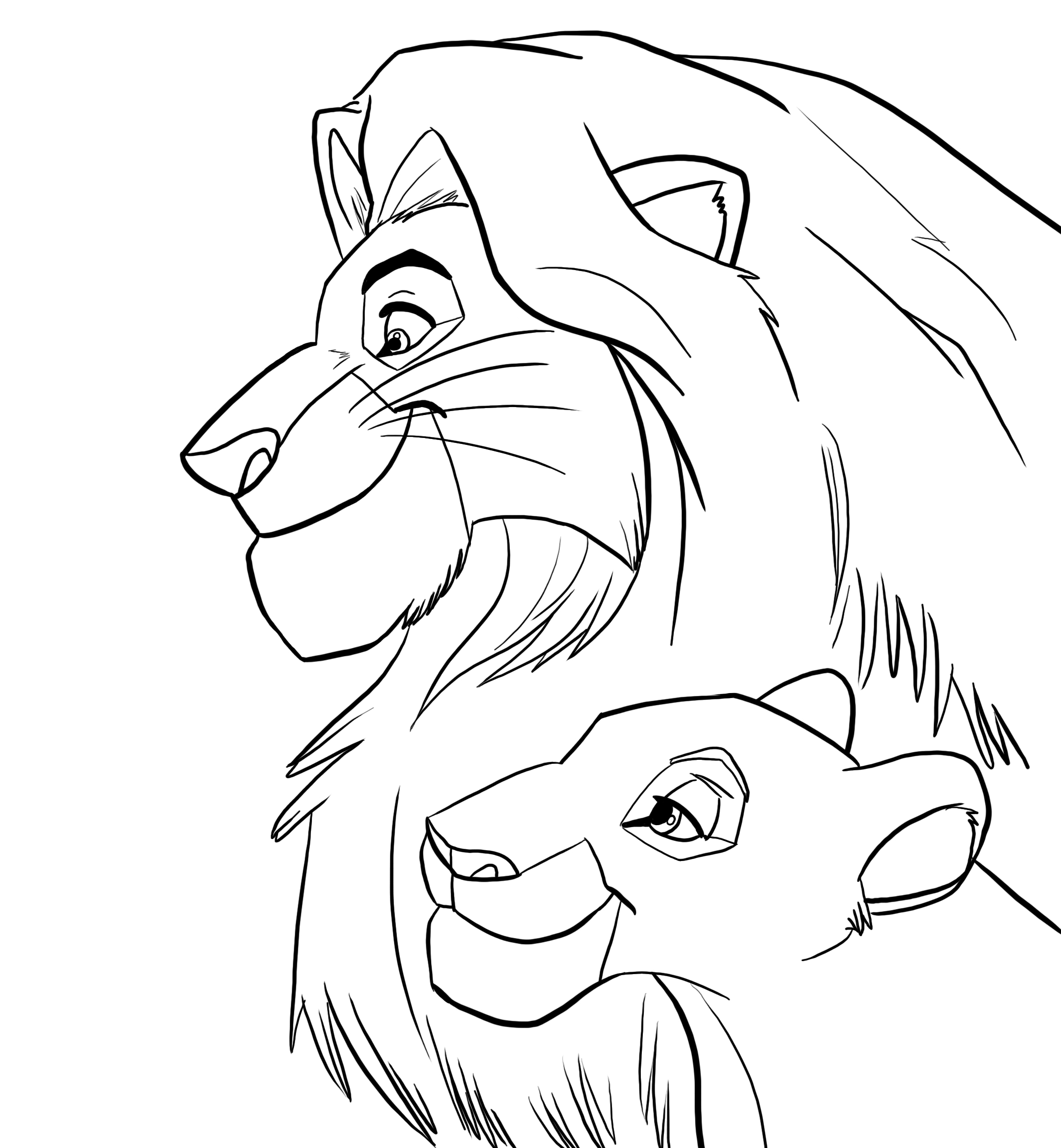 lion king mufasa coloring pages lion king mufasa coloring pages at getdrawings free download king pages mufasa lion coloring