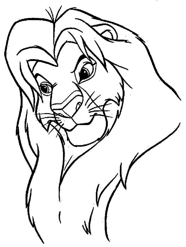 lion king mufasa coloring pages mufasa coloring page at getdrawings free download pages coloring king lion mufasa
