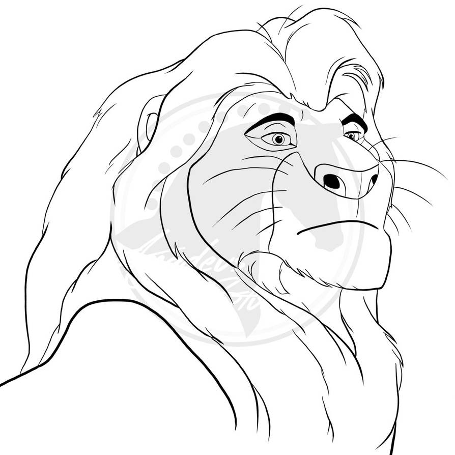 lion king mufasa coloring pages mufasa coloring page coloring home king pages lion mufasa coloring