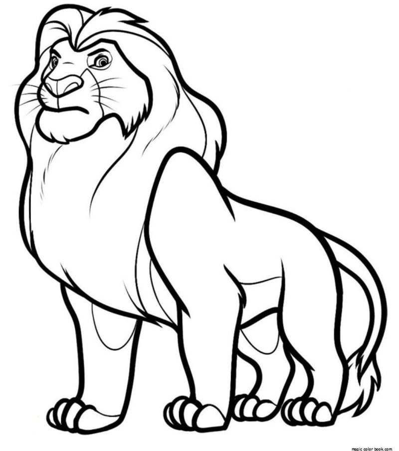lion king mufasa coloring pages mufasa coloring page coloring home mufasa coloring king pages lion