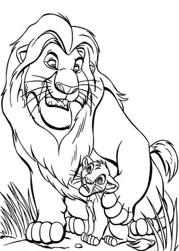 lion king mufasa coloring pages mufasa drawing at getdrawings free download lion pages mufasa king coloring
