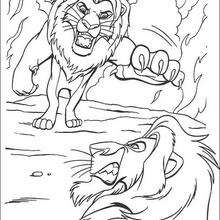 lion king mufasa coloring pages mufasa the great the lion king coloring page download mufasa king lion pages coloring