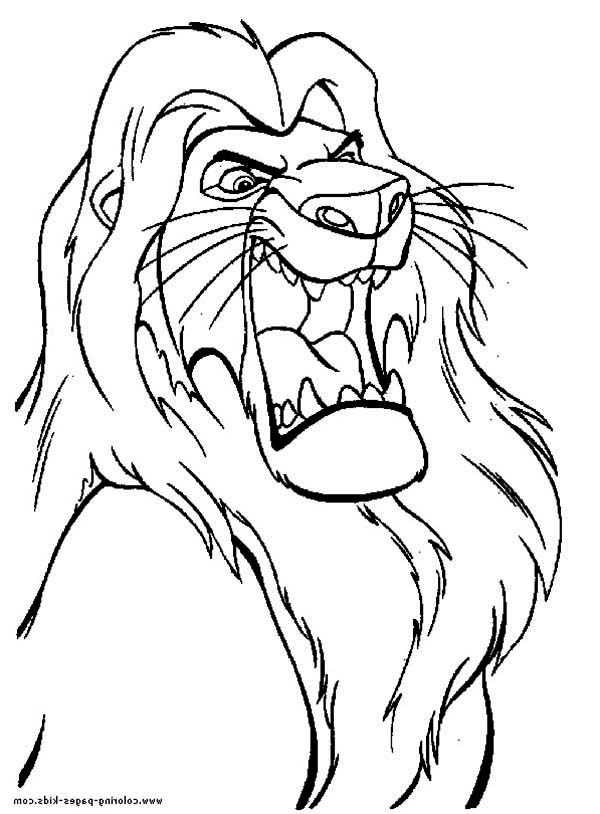 lion king mufasa coloring pages simba and his father mufasa coloring page download mufasa lion pages king coloring