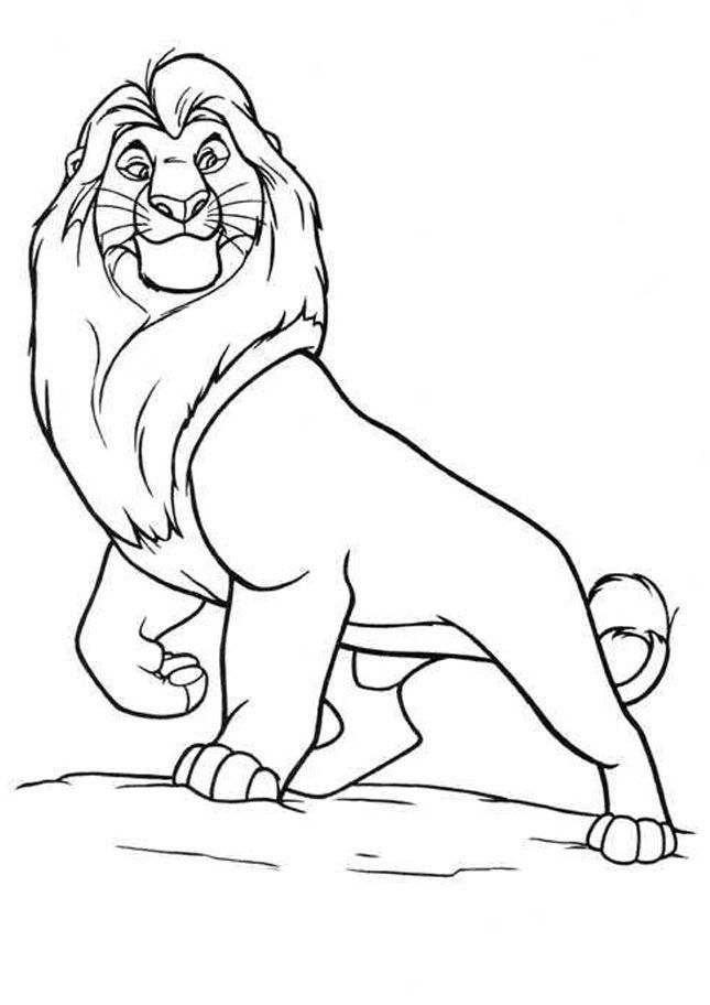 lion king mufasa coloring pages the best free mufasa coloring page images download from king lion pages mufasa coloring
