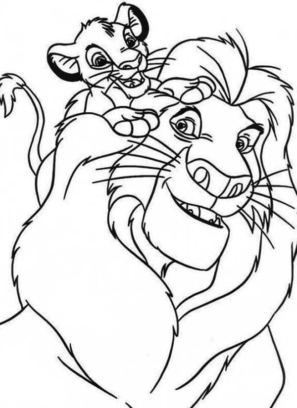 lion king mufasa coloring pages the lion king coloring pages 2 disneyclipscom coloring mufasa pages lion king