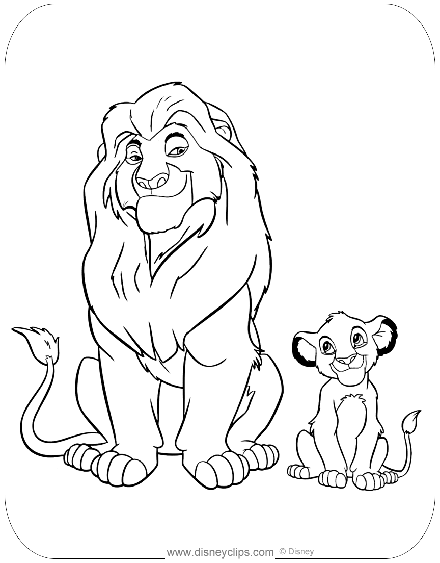 lion king mufasa coloring pages the lion king coloring pages simba with mufasa coloring mufasa king pages lion