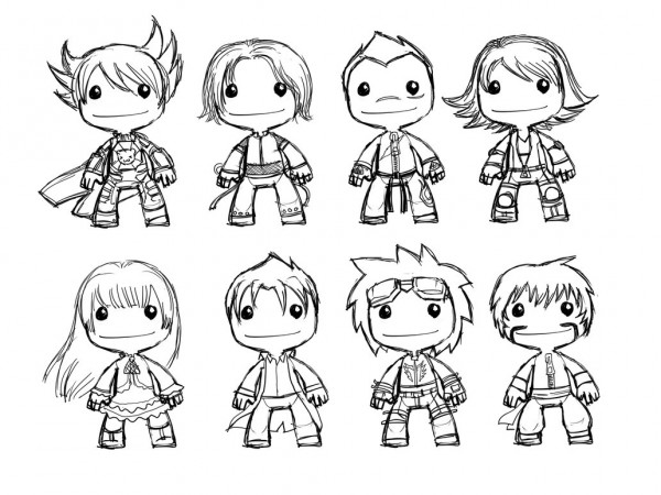 little big planet 3 coloring pages resmi playstation boyama kitabı 39art for the players pages coloring 3 big little planet
