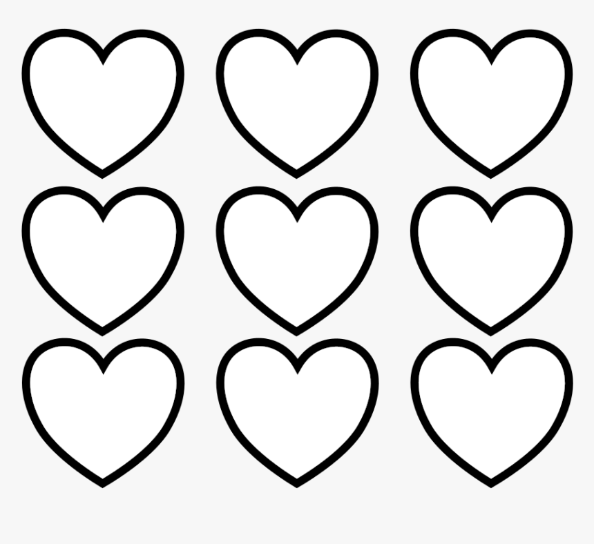 Little heart coloring pages