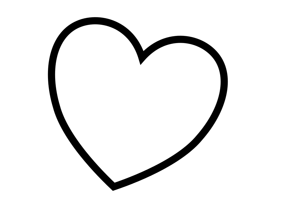 little heart coloring pages small heart drawing at getdrawings free download heart pages little coloring