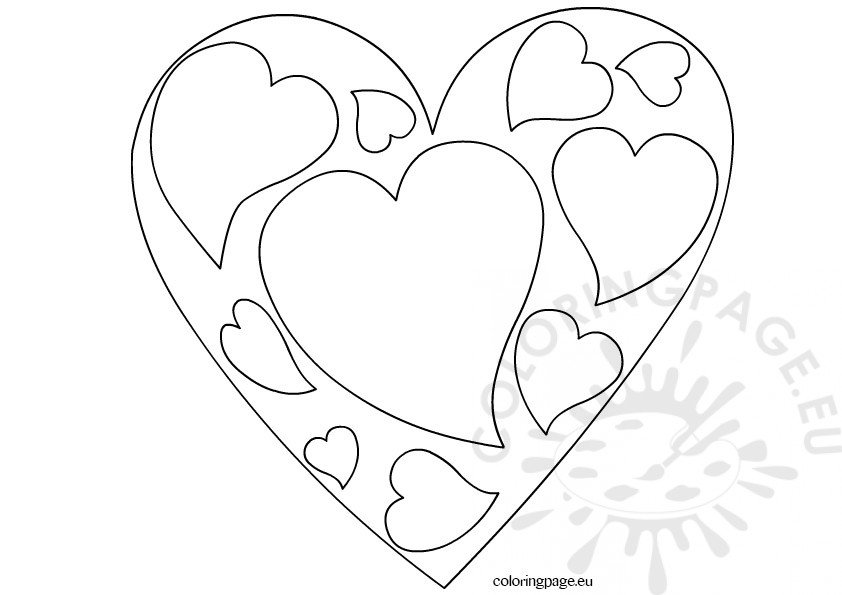 little heart coloring pages valentine39s day coloring pages free pdf jpg format heart pages coloring little