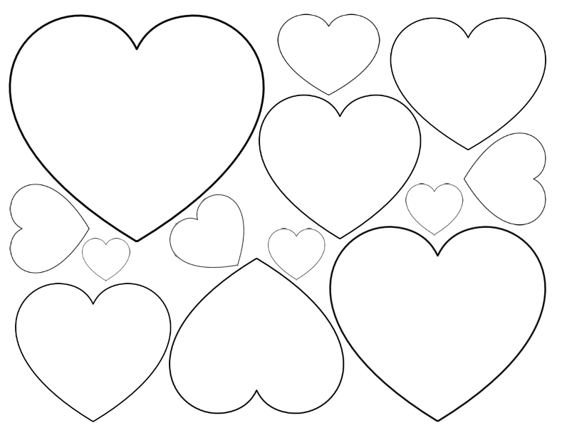 little heart coloring pages valentines day heart coloring page coloring home coloring little pages heart