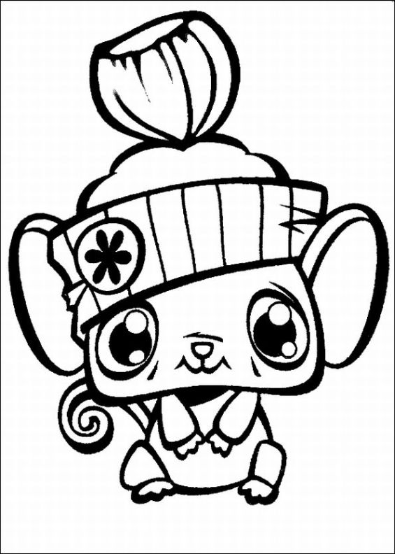 littlest pet shop coloring page free printable littlest pet shop coloring pages page pet shop littlest coloring