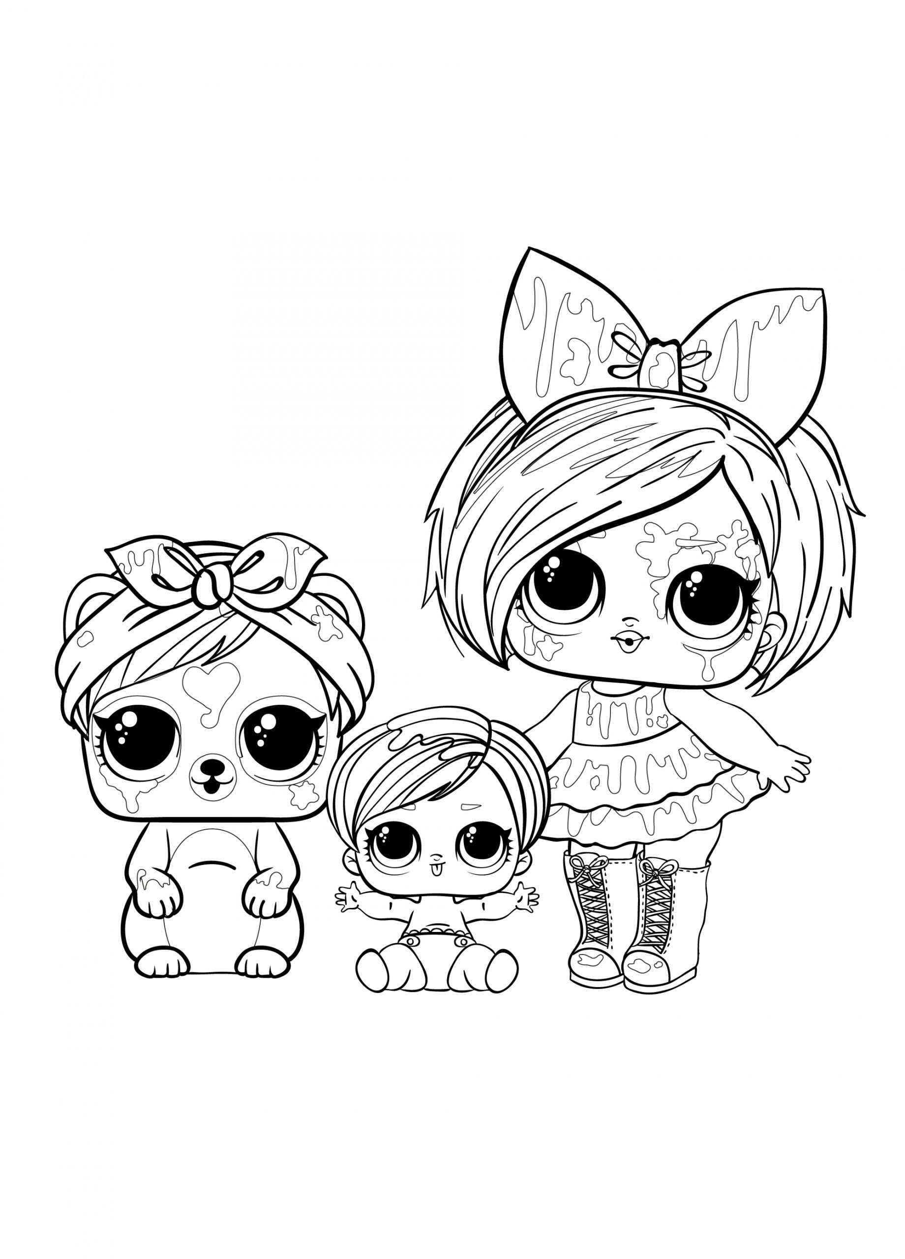 lol toy coloring pages lol dolls coloring pages unicorn coloring pages doll toy pages coloring lol