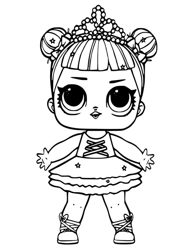 lol toy coloring pages lol surprise doll coloring pages lil roller sk8ter free toy lol coloring pages