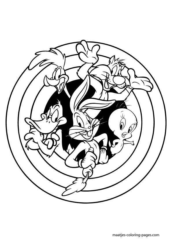 looney tunes coloring pages to print looney tunes coloring pages books 100 free and print looney pages to coloring tunes