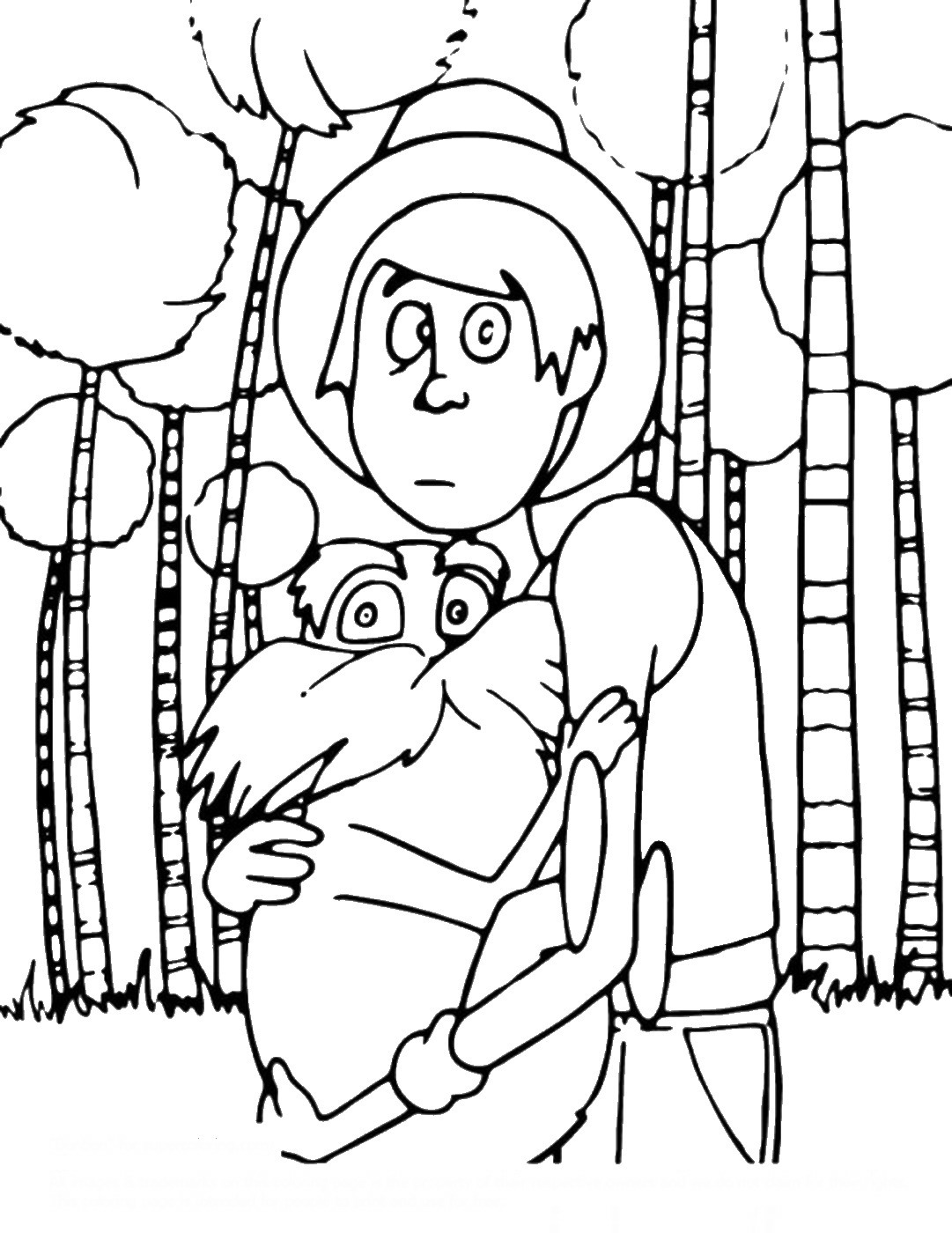 lorax coloring pages the lorax coloring pages pages lorax coloring