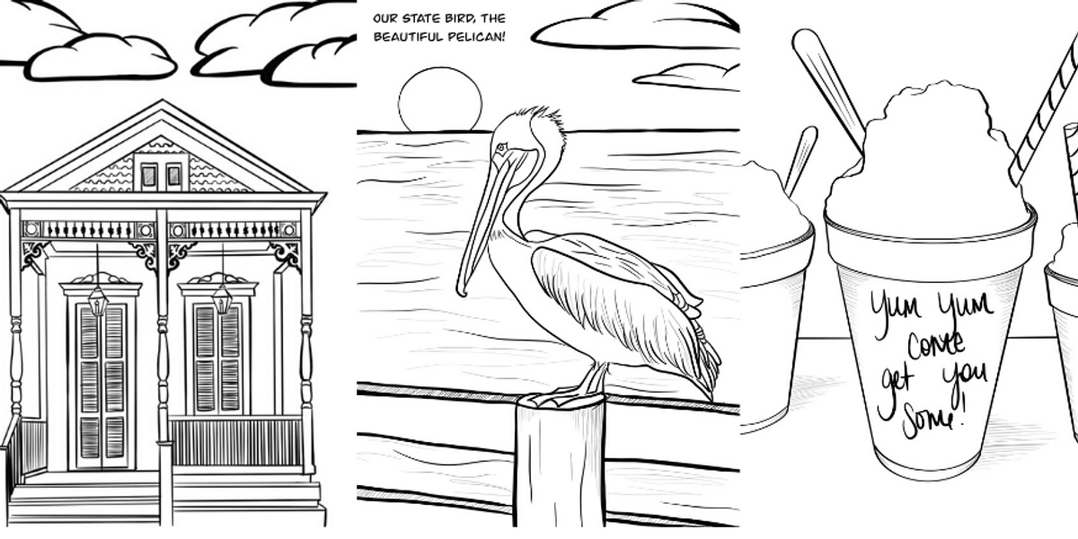 louisiana coloring pages louisiana state symbols coloring pages coloring home coloring pages louisiana