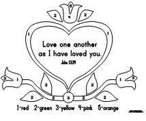 love one another coloring page eleven best valentines coloring pages one coloring love another page