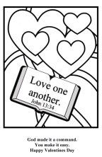 love one another coloring page love one another coloring page at getdrawings free download page coloring one love another
