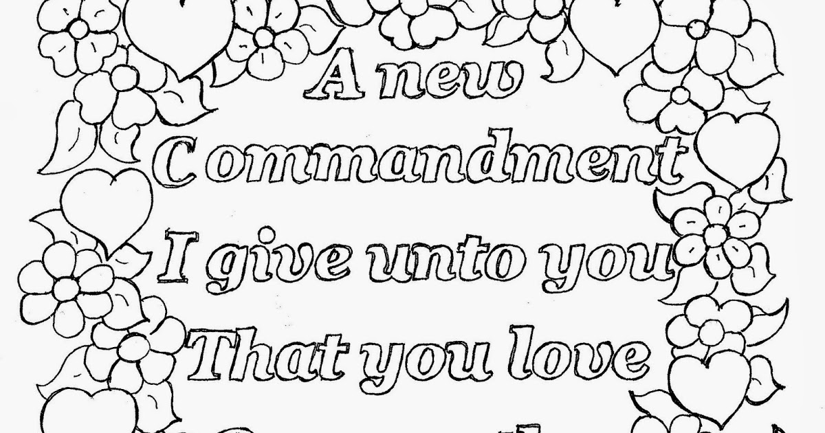 love one another coloring page love one another coloring page fresh john 13 34 memory one page love another coloring