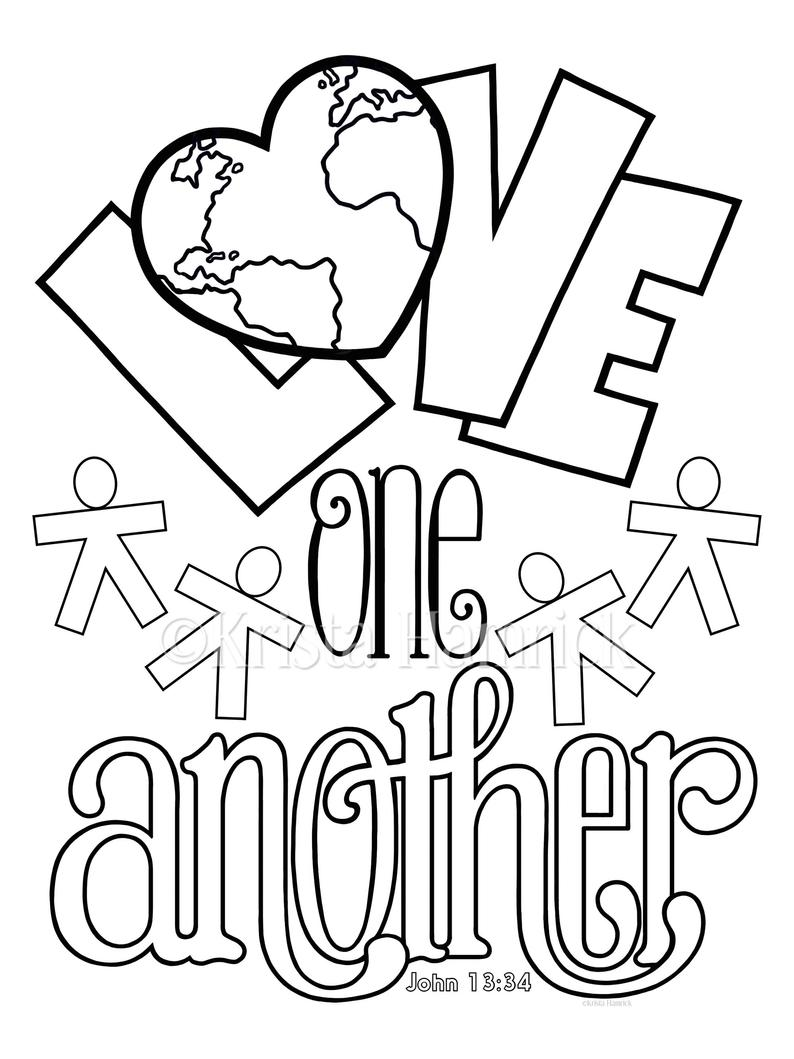 love one another coloring page love one another coloring pages home sketch coloring page love one another coloring page
