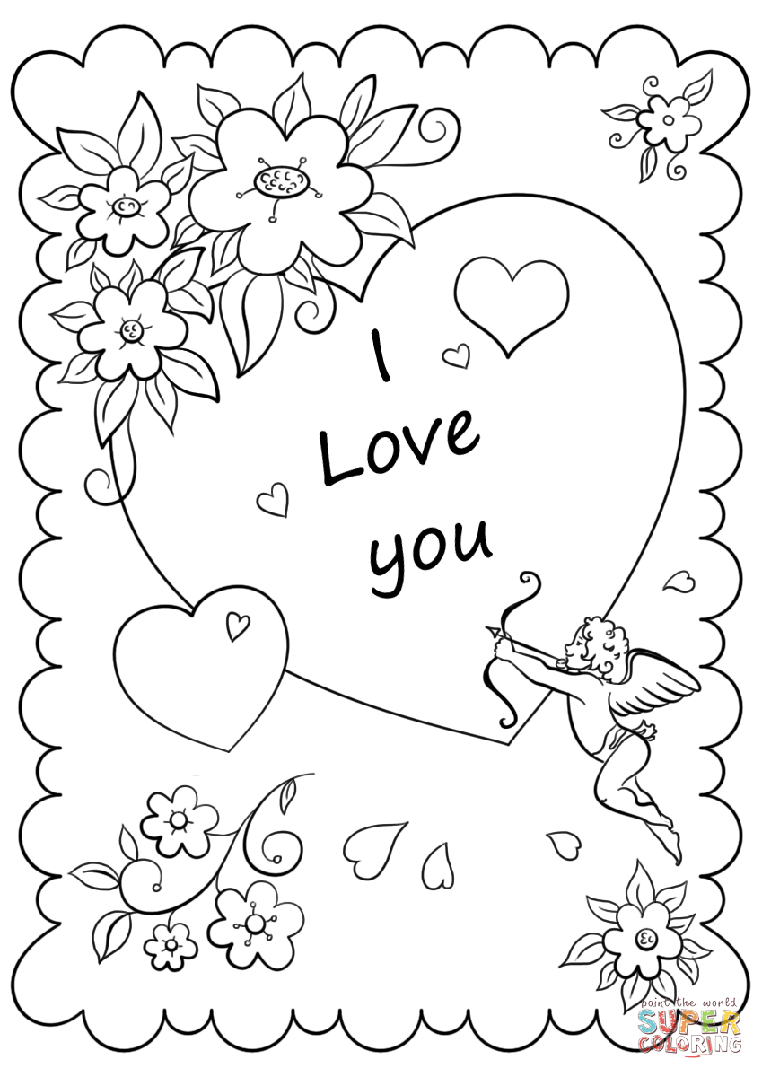 love pictures to color coloring pages to love pictures color