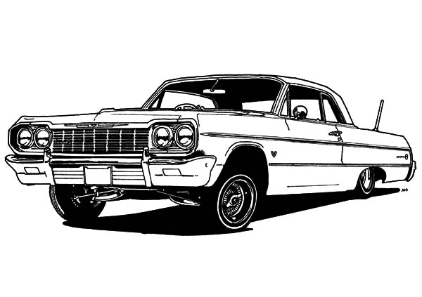 lowrider truck coloring pages cadillac lowrider coloring page art activities coloring pages lowrider truck