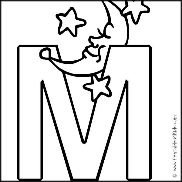m coloring pages for preschool letter m coloring pages for kids preschool and kindergarten m pages coloring preschool for