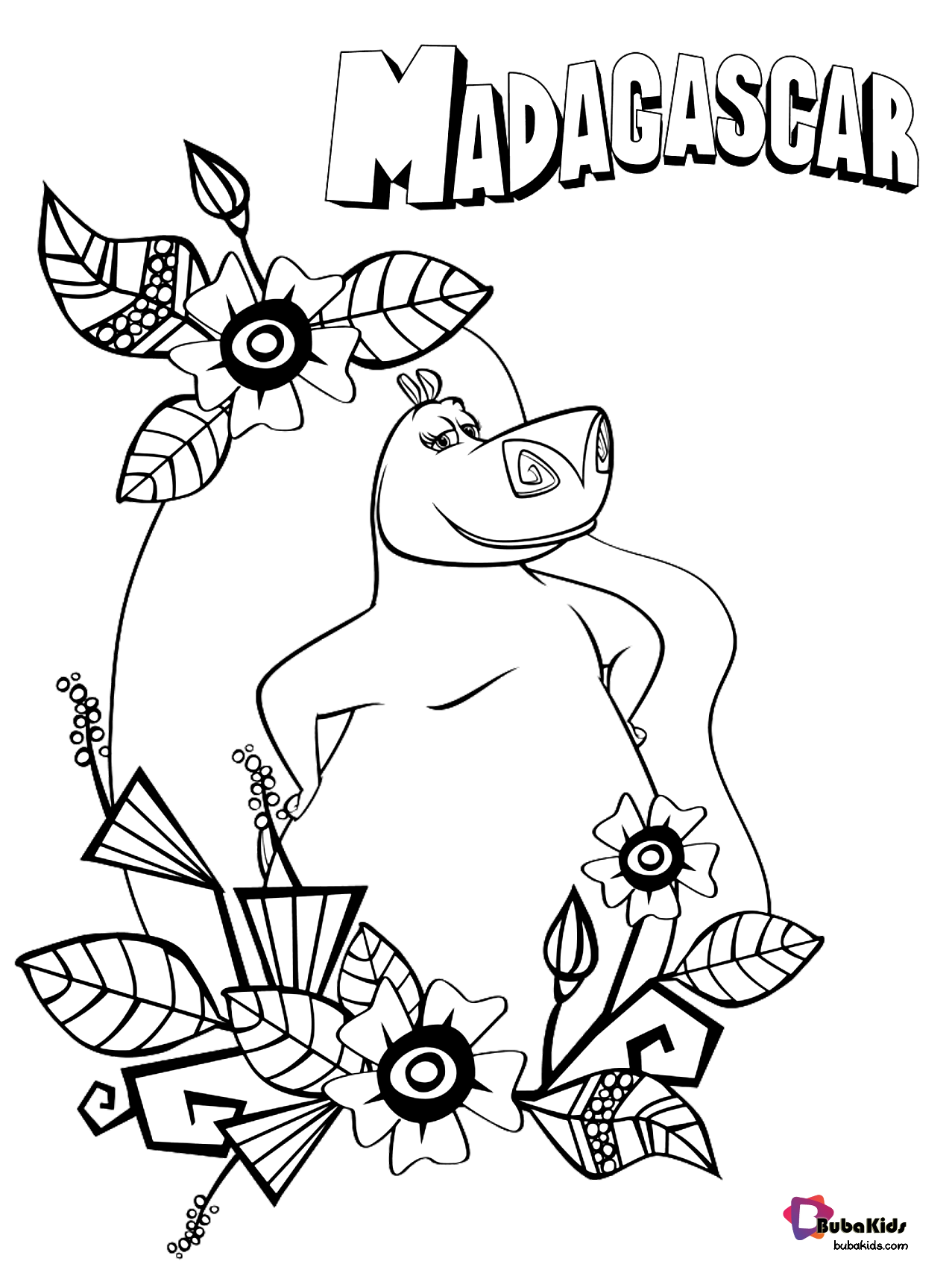 madagascar movie coloring pages marty says look at me coloring page free madagascar 3 movie coloring madagascar pages