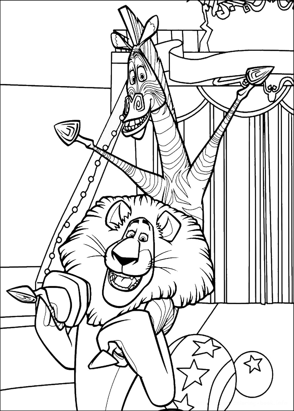 madagascar movie coloring pages printable madagascar coloring pages for kids cool2bkids madagascar pages coloring movie