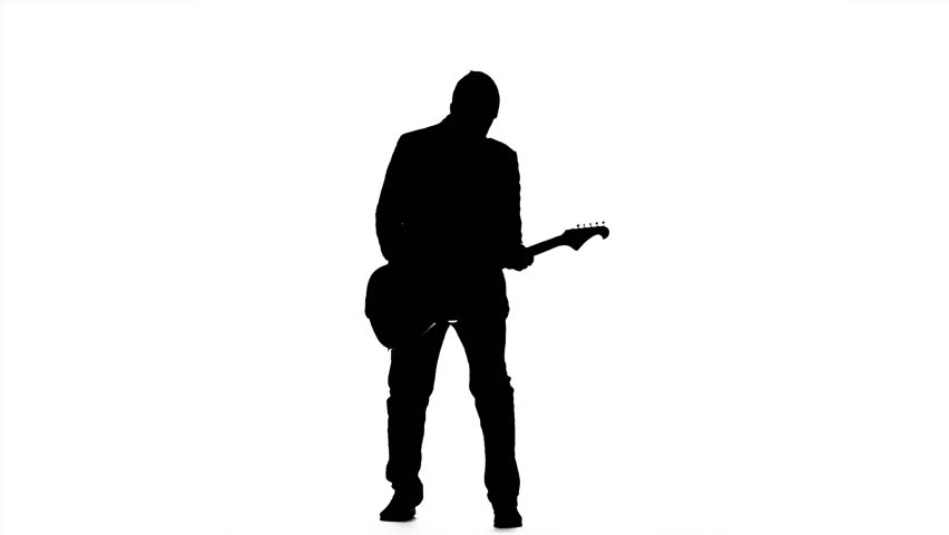 man with guitar silhouette amazoncom people silhouette wall decals man playing silhouette guitar man with