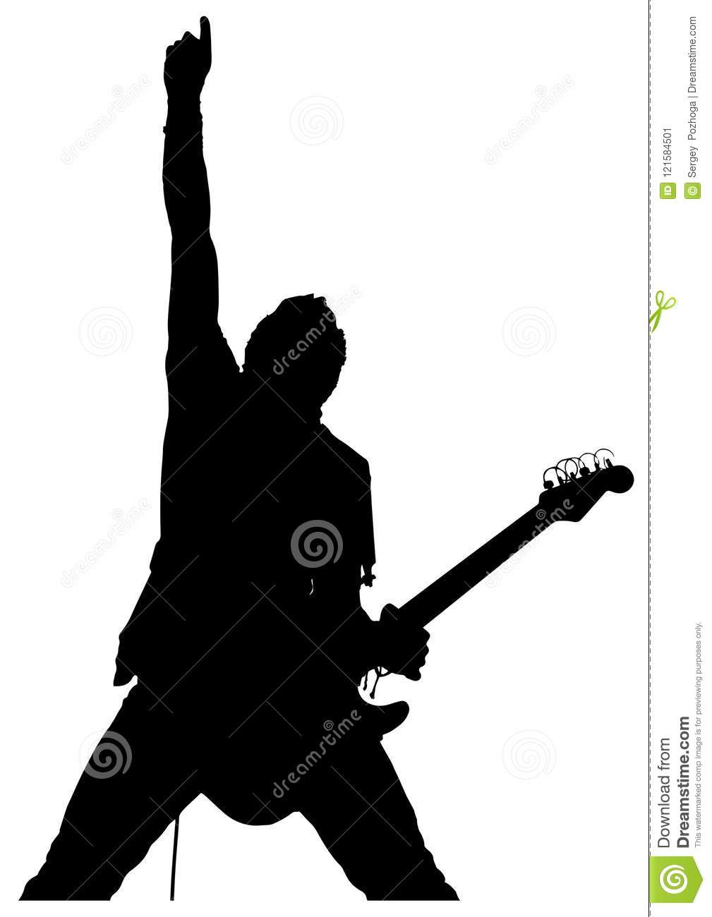 man with guitar silhouette black silhouette of a man with a guitar on a white guitar silhouette man with