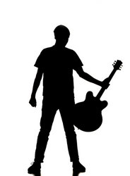 man with guitar silhouette free download guitarist silhouette band transparent silhouette with guitar man
