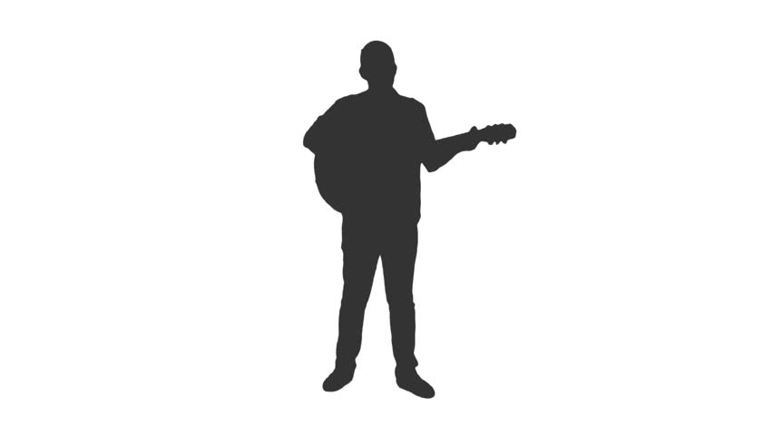 man with guitar silhouette guitar silhouette clip art at getdrawings free download guitar man with silhouette