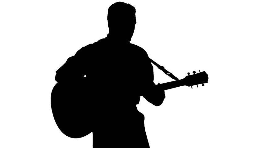 man with guitar silhouette man playing guitar silhouette at getdrawings free download man silhouette with guitar