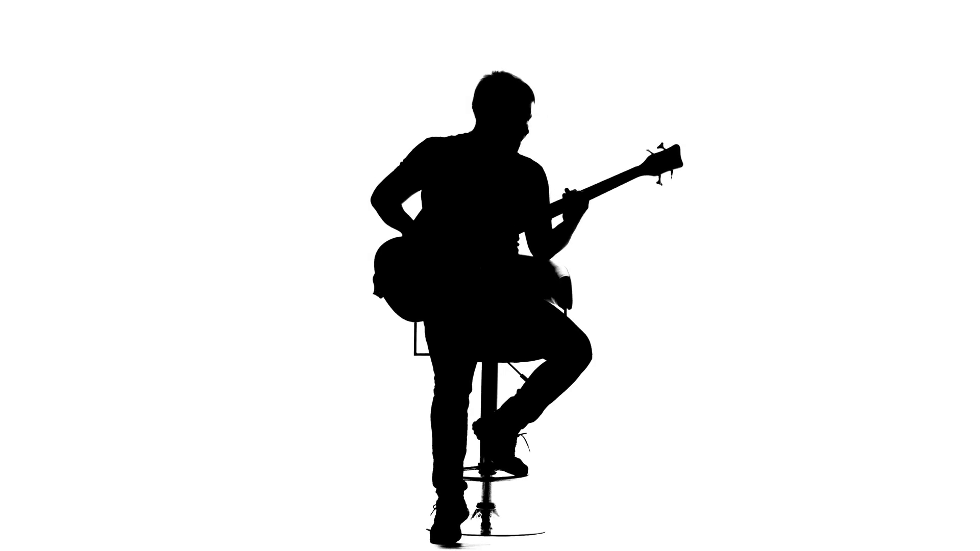 man with guitar silhouette man playing guitar silhouette free vector silhouettes with silhouette guitar man