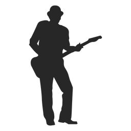 man with guitar silhouette man with guitar silhouette royalty free stock image silhouette guitar man with