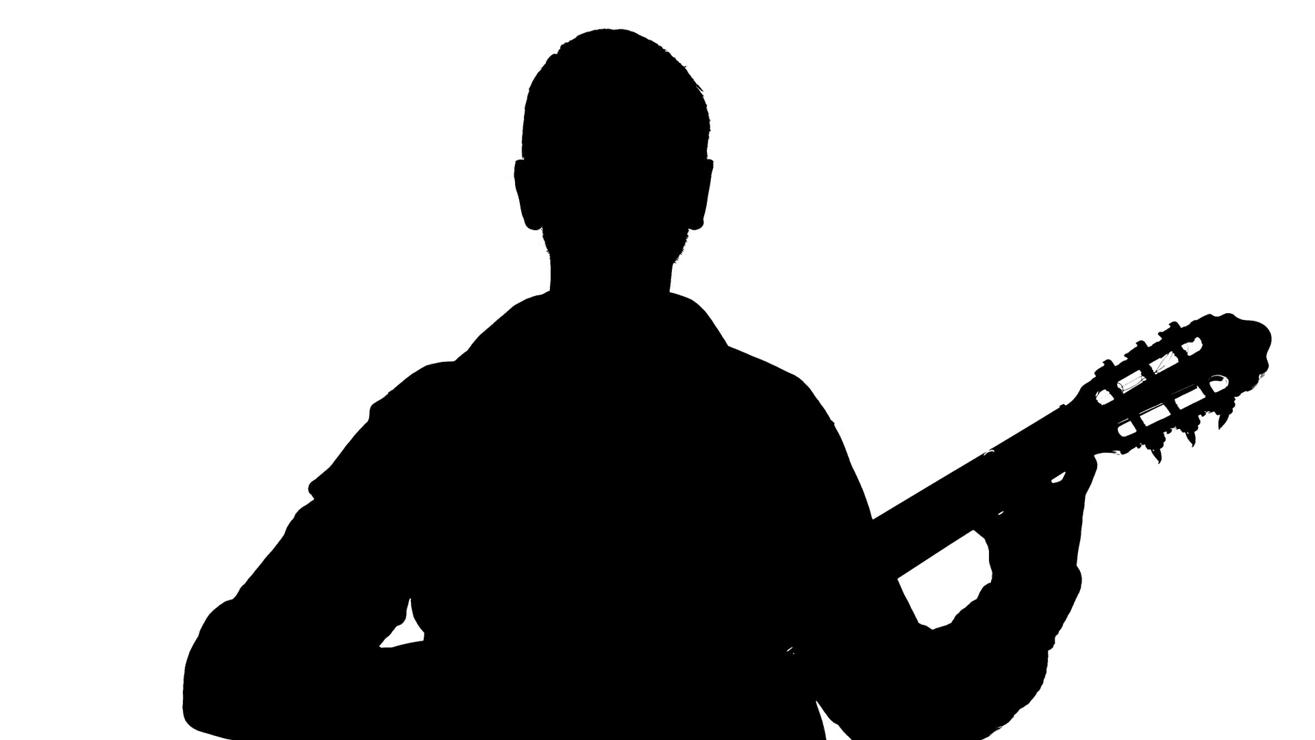 man with guitar silhouette silhouette of a man playing a guitar vector image guitar silhouette man with