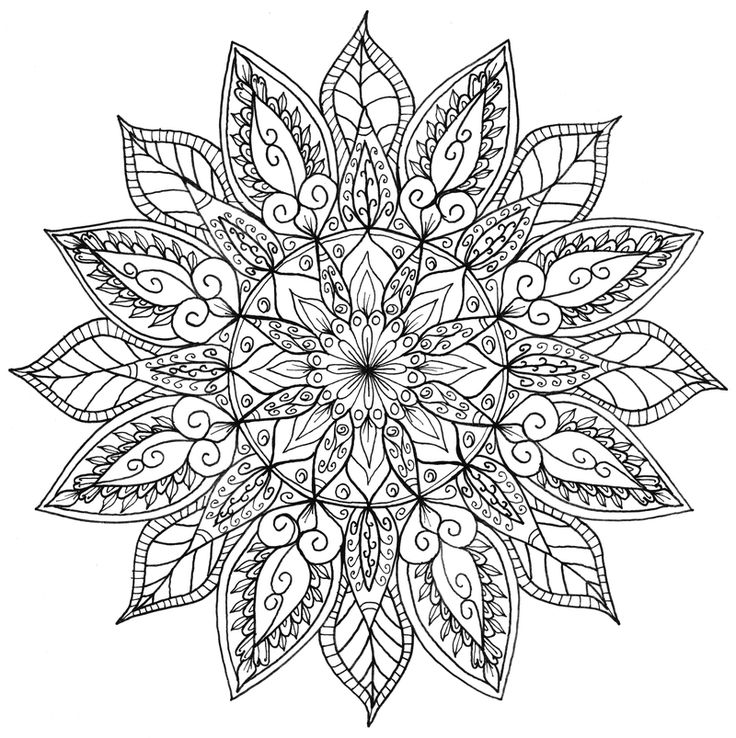 mandala adult coloring pages leen margot mandala with leaves malas adult coloring pages adult mandala coloring