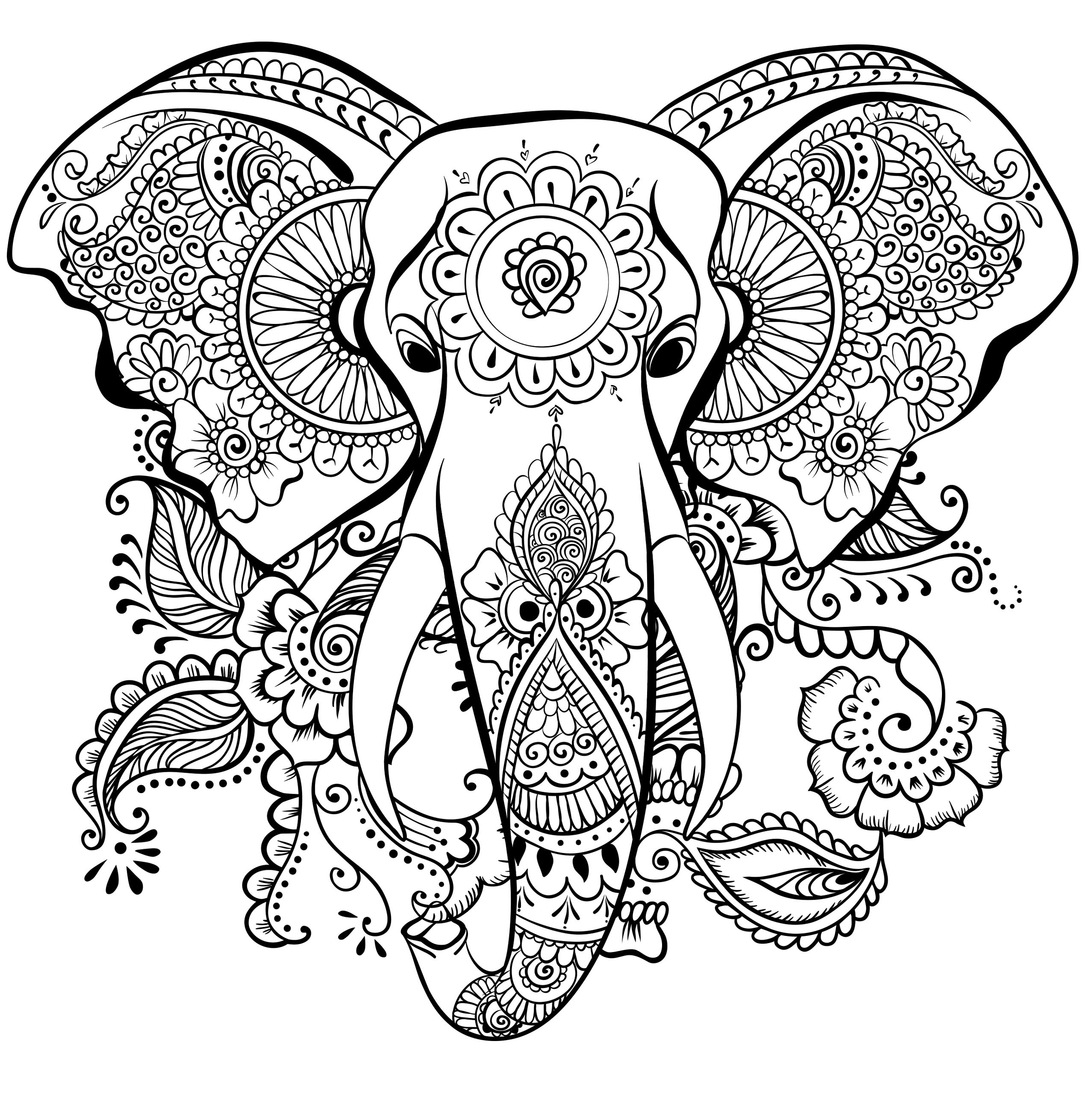mandala coloring pages for adults elephant mandala coloring pages collection free coloring pages for mandala coloring adults