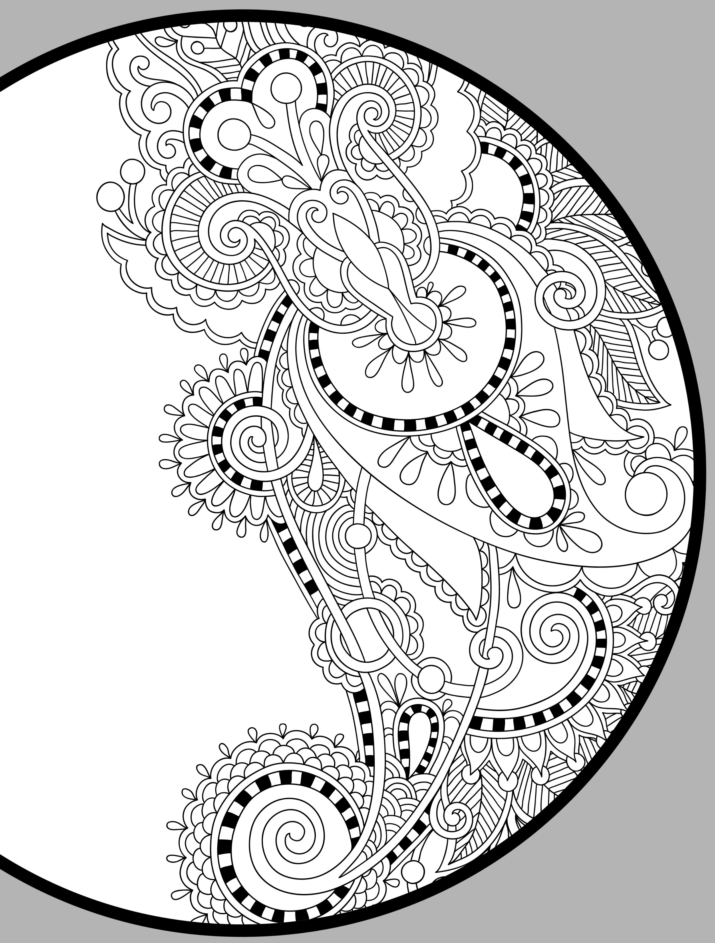 mandala coloring pages for adults free abstract mandala coloring page for adults digital download pages coloring mandala free adults for