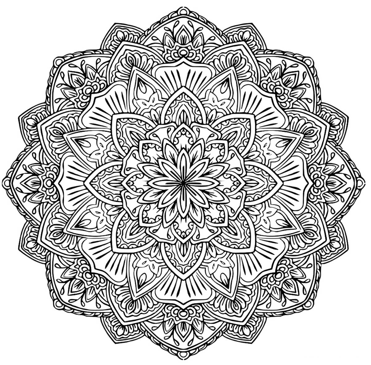 mandala coloring pages for adults free mandala to download in pdf 1 malas adult coloring pages adults mandala for free coloring pages