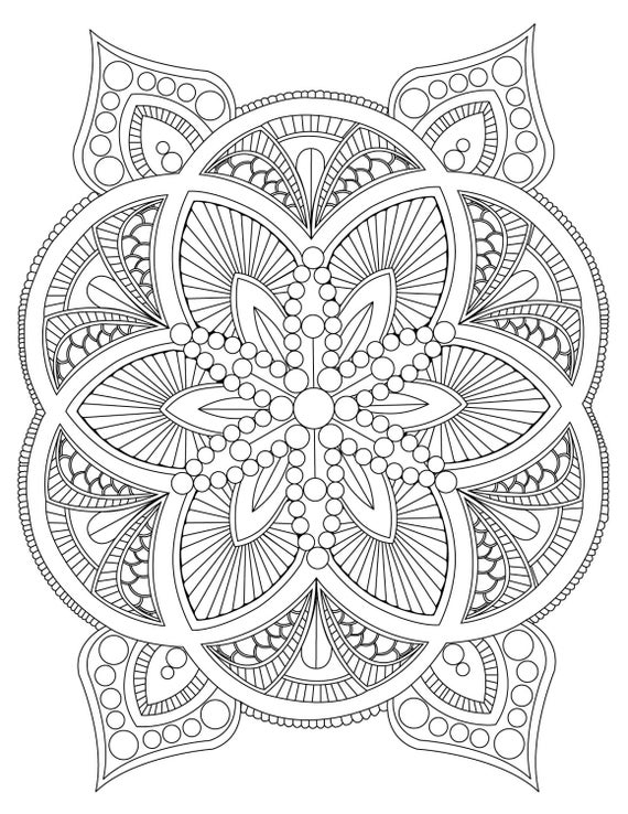 mandala coloring pages for adults free mandala to download in pdf 6 malas adult coloring pages adults coloring free pages mandala for