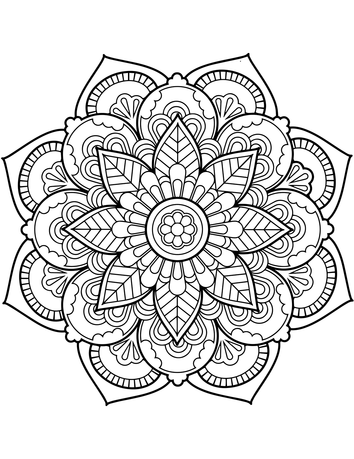 mandalas coloring pages mandala coloring pages for kids to download and print for free pages coloring mandalas