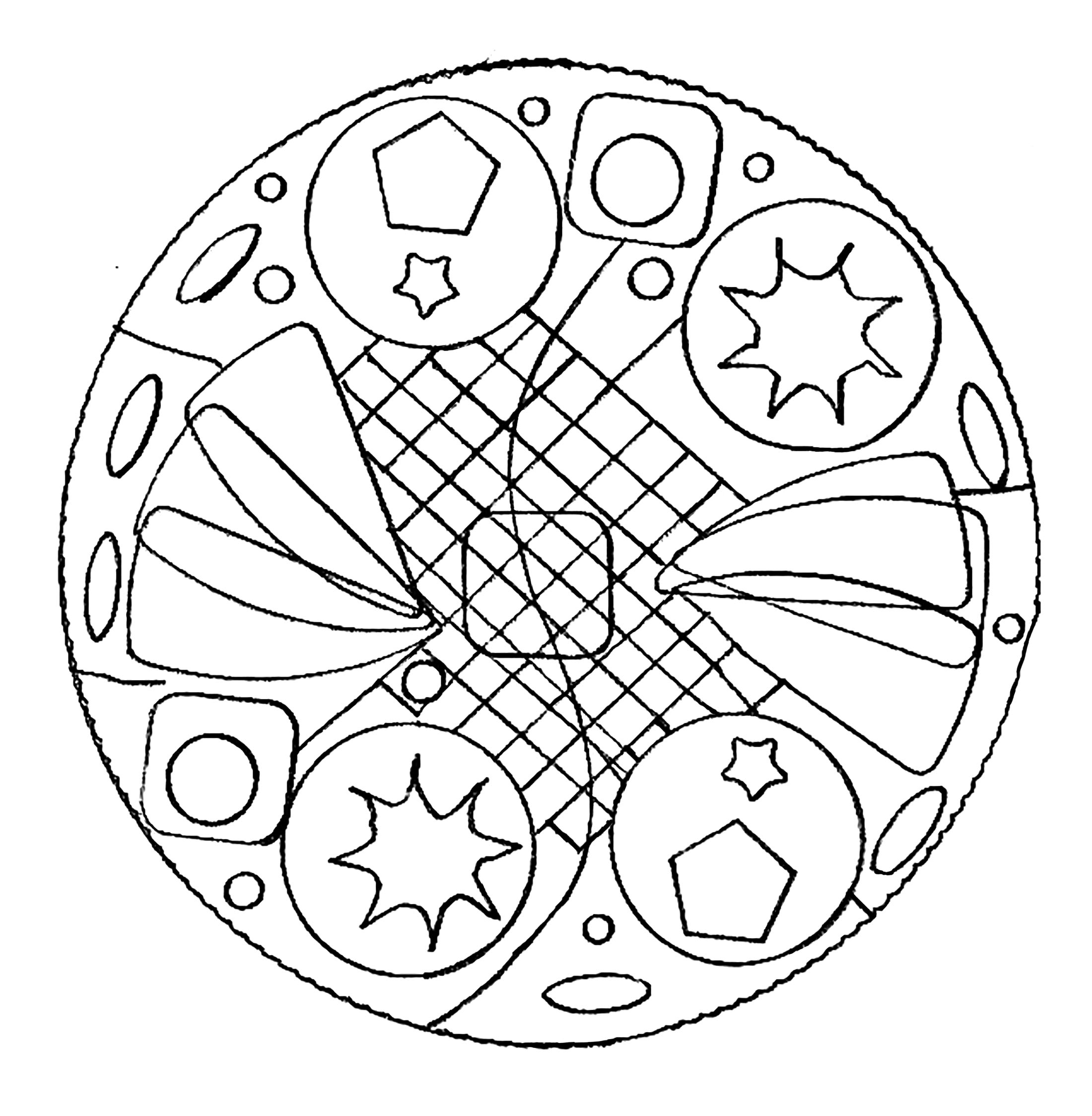 mandalas to color for adults 20 free printable mandala coloring pages for adults for color to mandalas adults