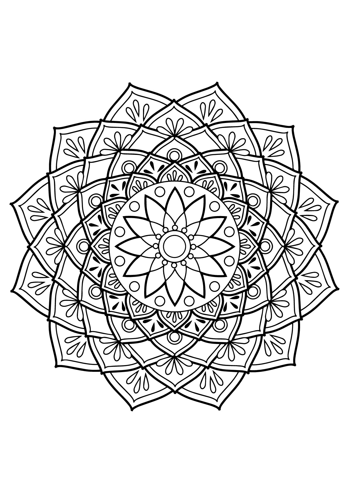 mandalas to color for adults 63 adult coloring pages to nourish your mental visual for color mandalas adults to